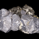 Cluster of galena crystals from Viburnum, USA