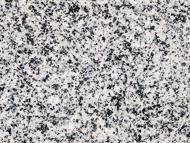 Igneous rock granite texture